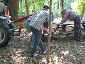Hard working volunteers from Aug 2009 Work Day